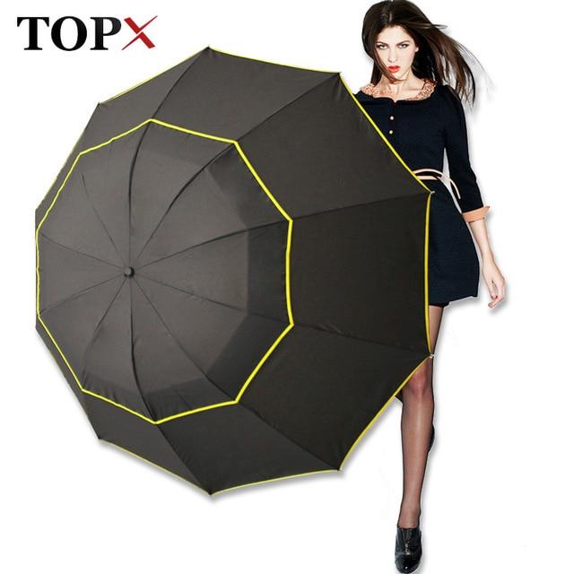 130 см большой Одежда высшего качества зонтик Для мужчин дождь женщина ветрозащитный большой Paraguas мужской Для женщин солнце 3 раскладной большой зонт открытый Parapluie