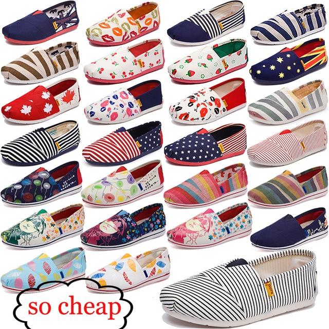 Для женщин мода туфли на плоской поверхности для ленивых's эспадрильи Для женщин парусиновая обувь для девочек Мокасины эспадрильи Для женщин туфли на плоской подошве размер 35-44