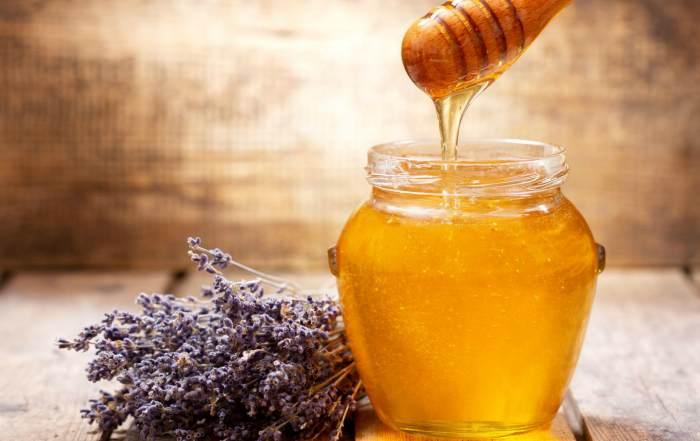 Мёд из цветков лаванды