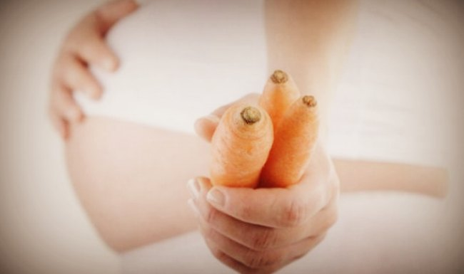 Морковь во время беременности