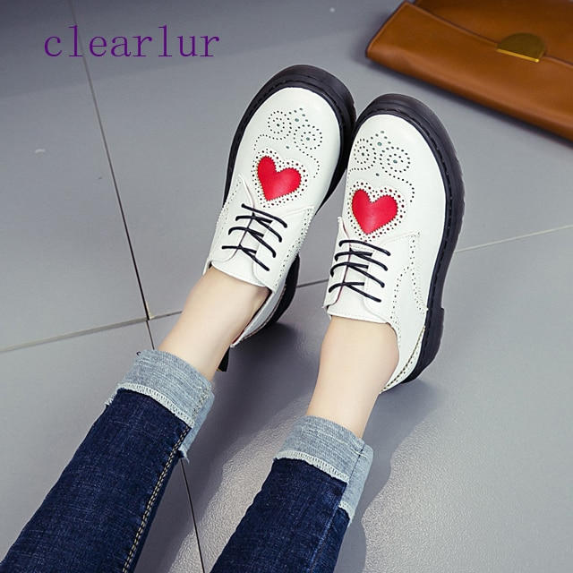 Новые женские туфли-оксфорды с перфорацией типа «броги» и шнуровкой, Кожаные Туфли-Дерби, женская обувь на плоской подошве, C0196