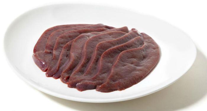 Способ приготовления говяжьей печени