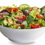 10 эффективных салатов для похудения