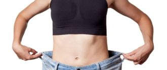 Упражнения и диета для похудения живота и боков