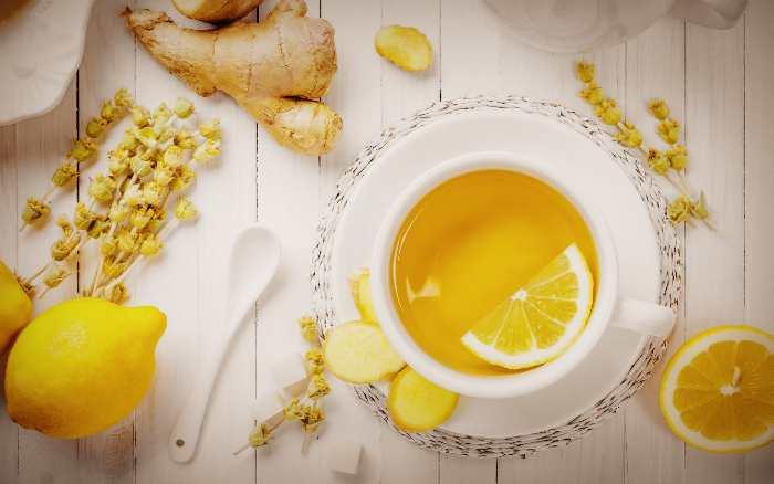 Зелёный чай с добавлением различных ингредиентов