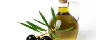 Увлажнение волос оливковым маслом