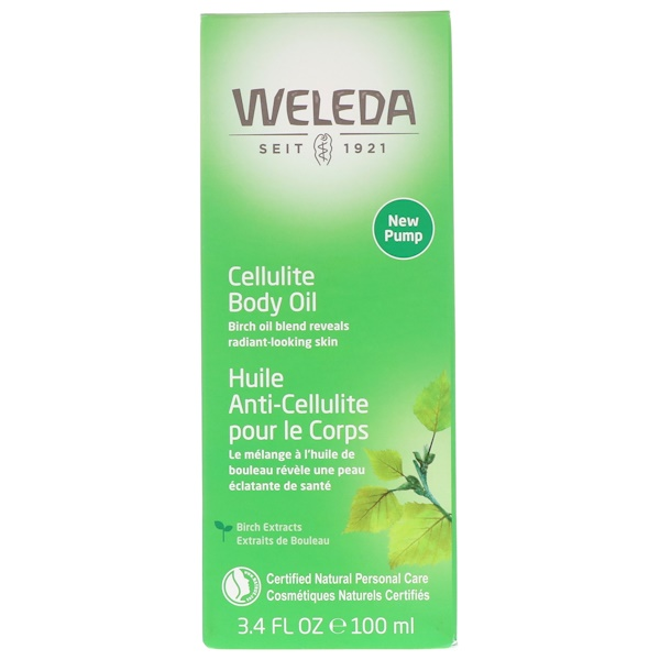 Weleda, Антицеллюлитное масло, с экстрактом миндаля, для чувствительной кожи, 100мл