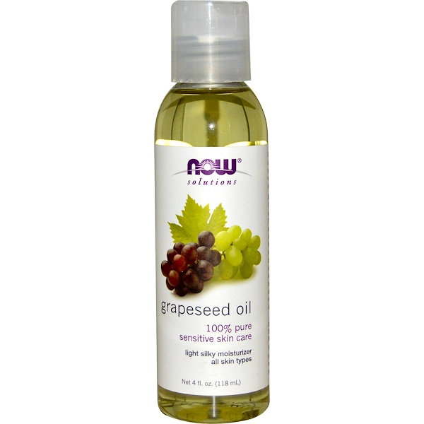 Now Foods, Solutions, Grapeseed Oil, 4oz