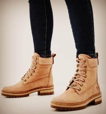 Ботинки Timberland под джинсы