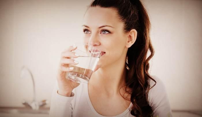 Питьё воды