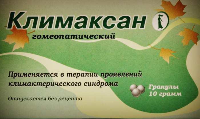 Гомеопатический препарат Климаксан при менопаузе