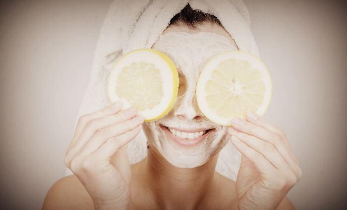 Маска для лица из лимона