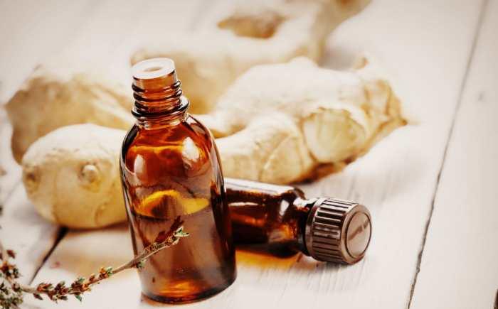 Имбирное масло для волос