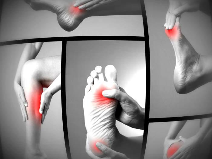 Болезненные симптомы на ногах