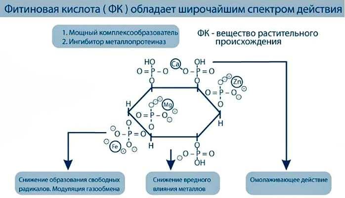 Фитиновая кислота - формула