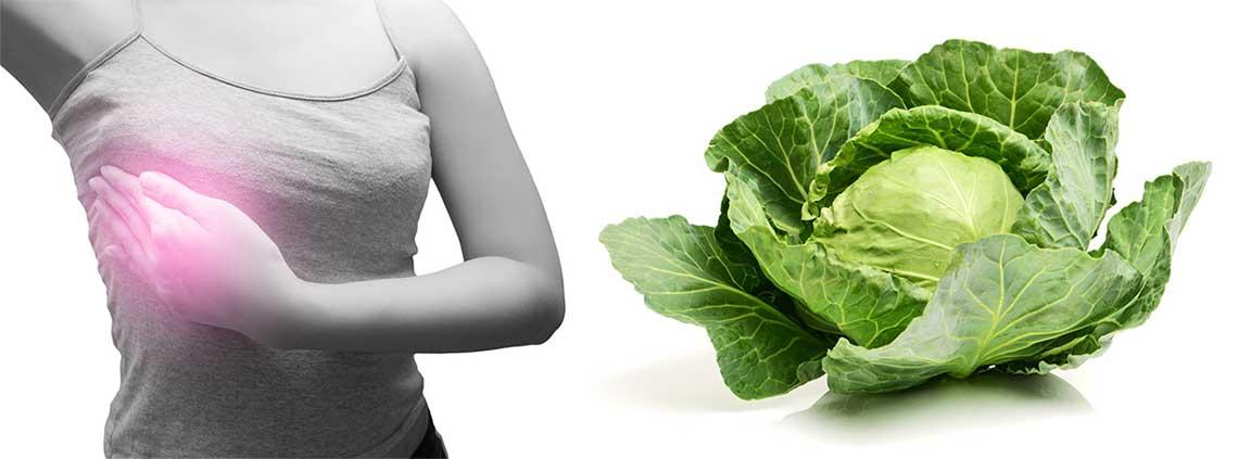 Чем помогает капустный лист при лактостазе