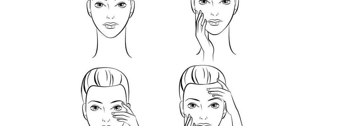 Виды массажей для лица и зоны декольте