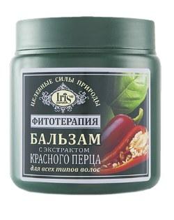 Бальзам для волос с экстрактом красного перца для всех типов волос 500 мл Ирис