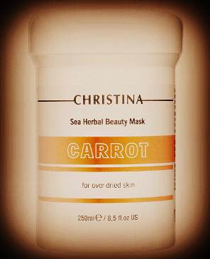 SEA HERBAL BEAUTY MASK CARROT