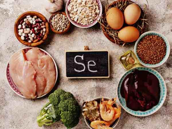 Продукты богатые селеном