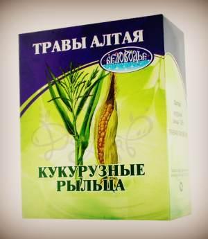 Кукурузные рыльца - травы Алтая