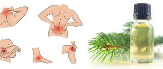 Как лечить суставы пихтовым маслом