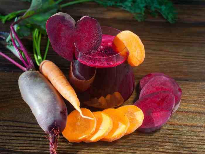 Свекольно- морковный сок