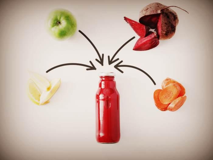 Свекольный сок с другими ингредиентами