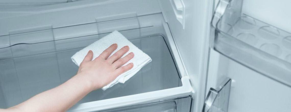 Мытьё холодильника от плесени