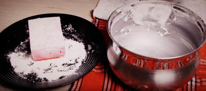 Чистка кастрюли из нержавейки пищевой содой