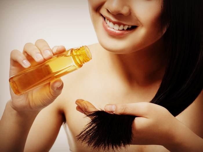 Нанесения касторового масла на волосы