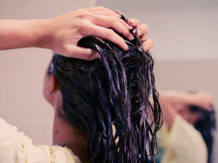 Маски придающие блеск волосам