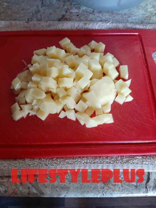картофель в борщ