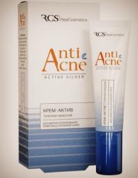 RCS крем-актив - для жирной и проблемной кожи лица, склонной к акне