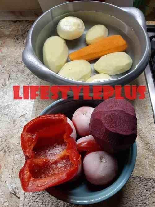 Овощи для борща