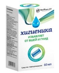 Хигиеника средство педикулицидное 60 мл