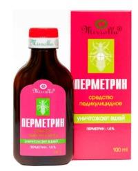 Перметрин Фора  р-р д/нар. прим. 1.5% фл. 100 мл