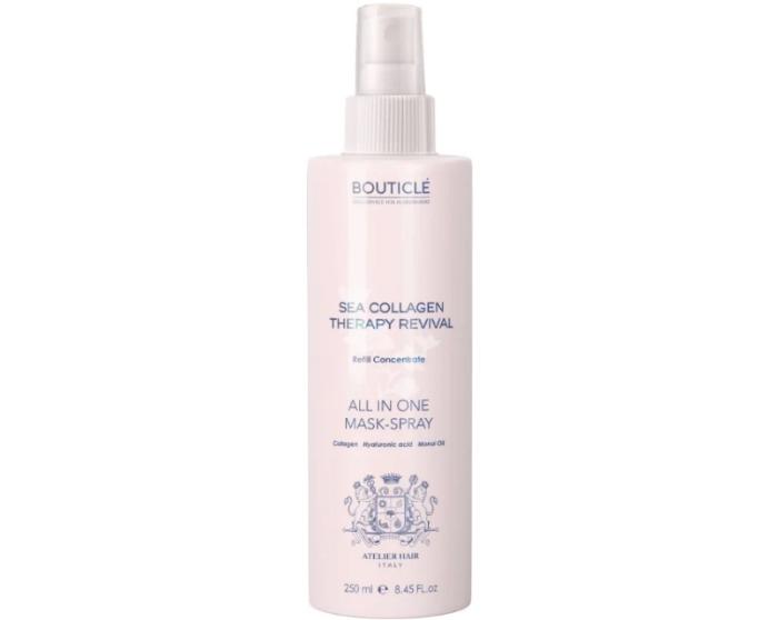 Bouticle Sea Collagen Therapy Revival - маска восстанавливающая коллагеновая для волос