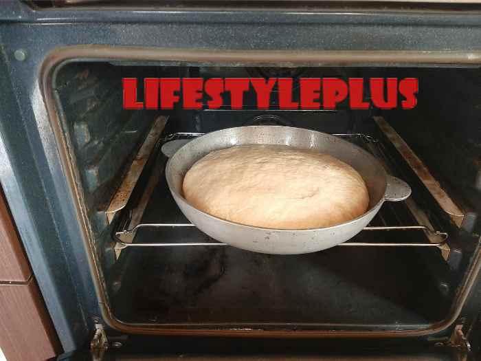Ставим выпекать в духовку