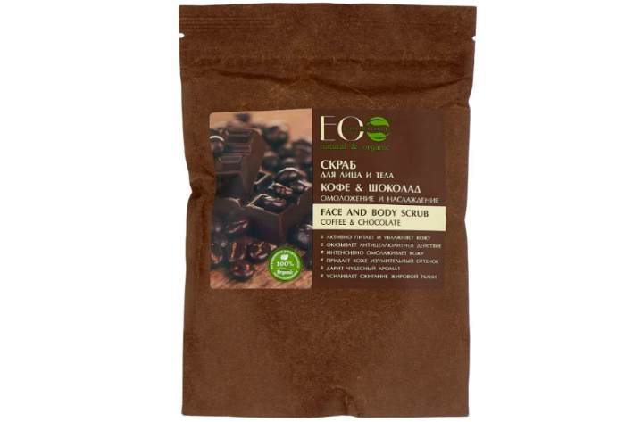 ECO Laboratorie Скраб для лица и тела Кофе & шоколад