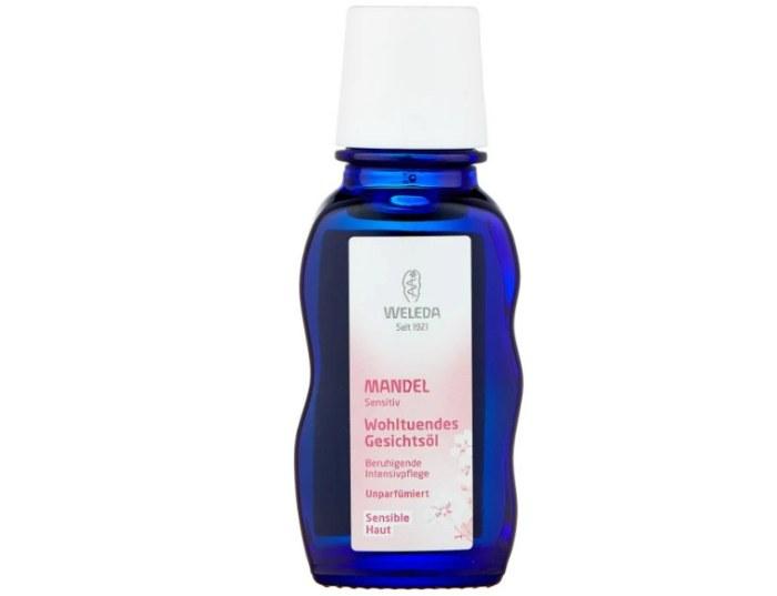Weleda Mandel Sensitiv - Деликатное питательное масло для лица