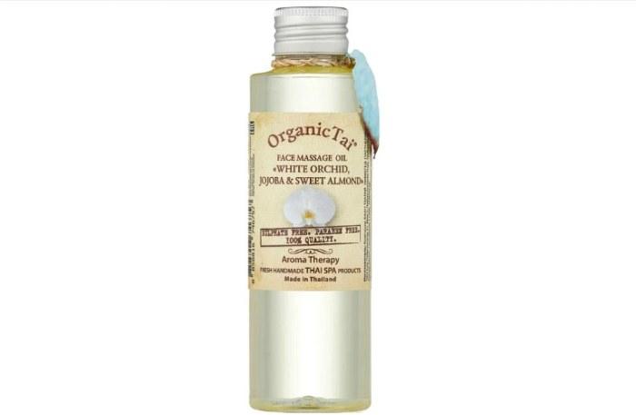 Organic TAI Face massage oil White orchid, jojoba & sweet almond Массажное масло для лица Белая орхидея, жожоба и сладкий миндаль